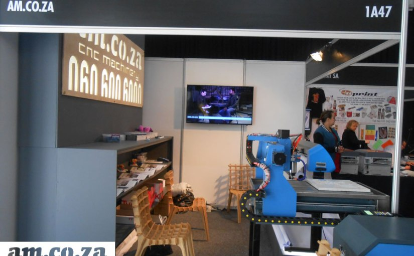 AM's CNC Router and Vinyl Cutter Takes The Lime Light at SignAfrica Expo