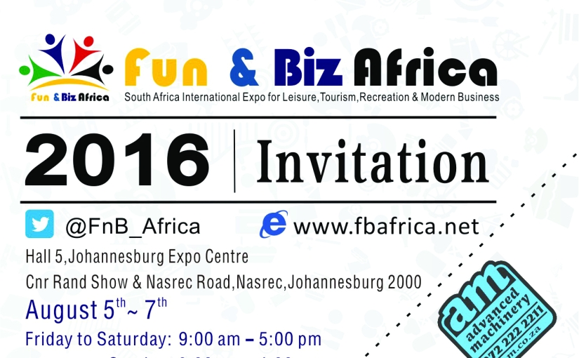 FREE TICKETS To The Fun & Biz 2016 Expo
