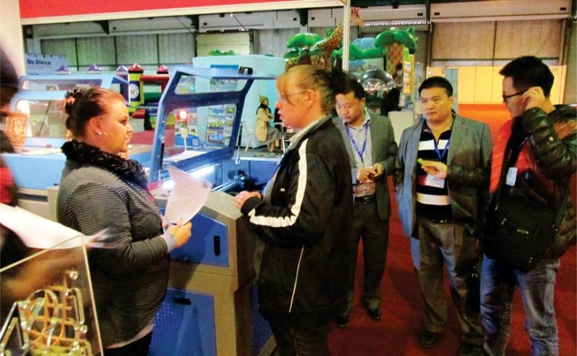 Advanced Machinery Stuns Visitors at The Fun & Biz2016