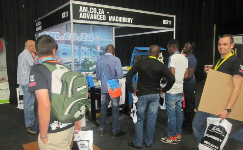 Advanced Machinery Triggers More Interest at The FESPA Africa 2016Expo