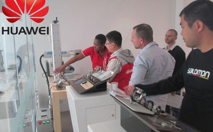 HUAWEI Acquires The LabelMark Fiber Laser Marker FromAM.CO.ZA