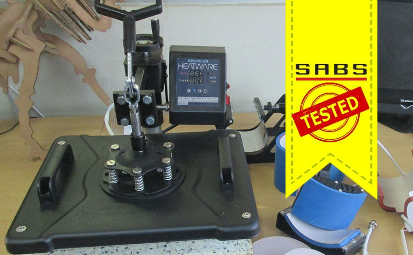 The Heatware Heat Press Machine Aces the Safety Test by TestAfrica