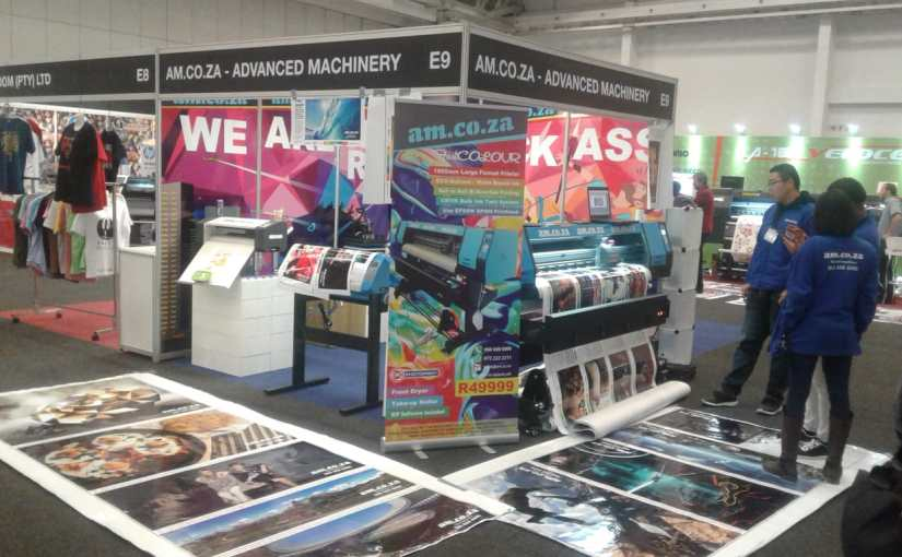 AM.CO.ZA at Sign Africa Expo 2019 in Cape Town